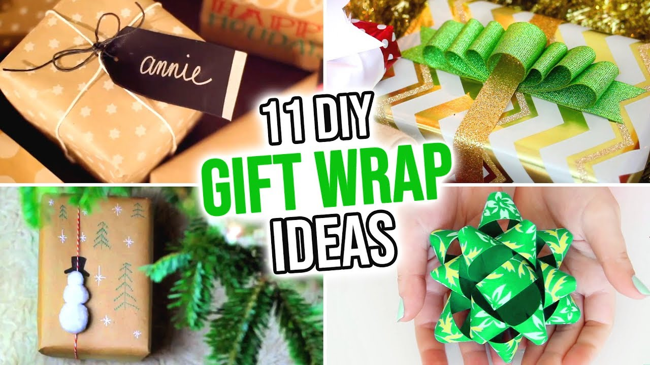 11 Diy Gift Wrapping Ideas Hgtv Handmade Youtube