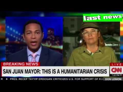 BREAKING NEWS: San Juan Mayor Carmen Yulin Cruz Responds to Donald Trump