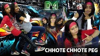 Chhote Chhote Peg | Sonu Ke Titu Ki Sweety | Duet Dance Choreography By D4 Dance Academy