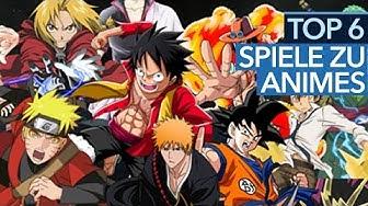 Die besten Anime-Spiele - Von Dragon Ball bis One Piece