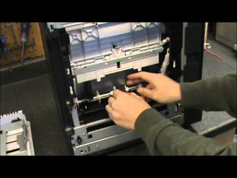 Hp Cp2025 How To Replace The Pick Up Rollers And