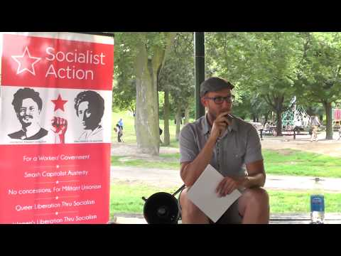 "Socialism in the Park - ""Permanent Revolution, Stalinism and the Transitional Programme"" 2of3"