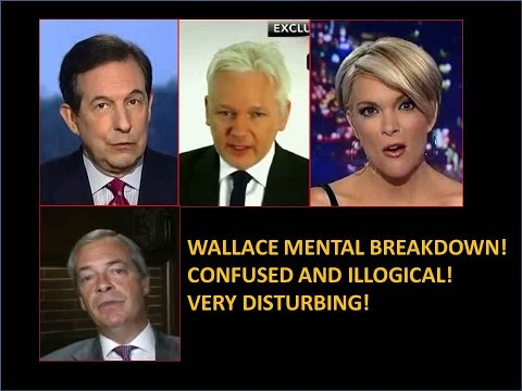 Thumbnail: Chris Wallace Mental Breakdown Over Assange! Confused and Illogical! Very Disturbing!