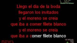 Karaoke Jossie Esteban y La Patrulla 15 - El Moreno