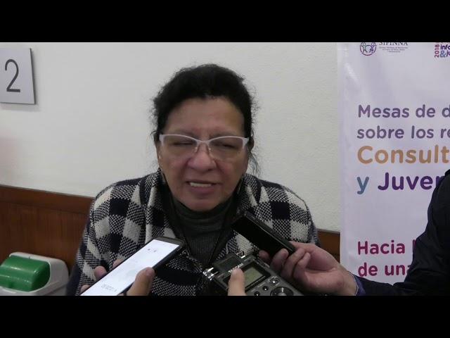 Entrevista a Presidenta CDHCM al finalizar las Mesas sobre resultados de Consulta Infantil y Juvenil