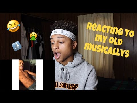 REACTING TO MY OLD CRINGY MUSICALLYS   Andre Swilley