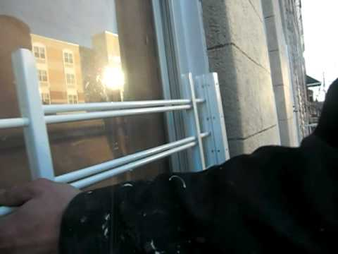 window guards for houses burglar wally houses installs security bars on window youtube