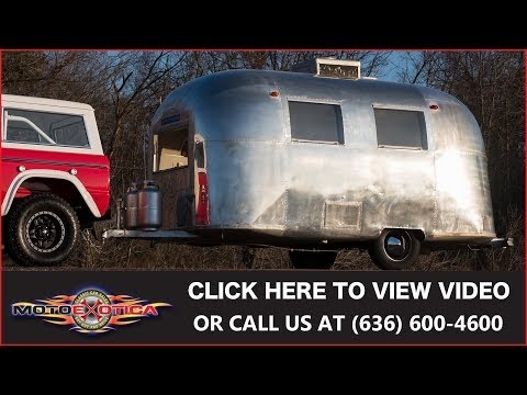 1967 Airstream Caravel Camper || For Sale