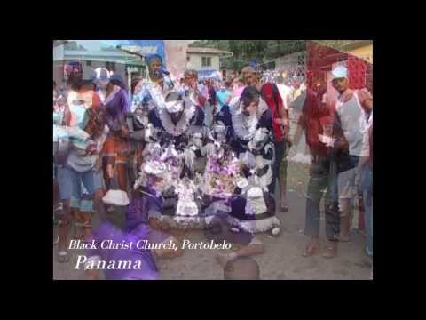 Panama's Black Christ Festival - פסטיבל ישו השחור- פנמה