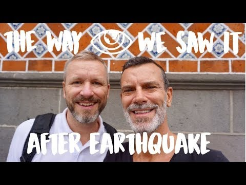 Puebla After Earthquake / Mexico Travel Vlog #126 / The Way We Saw It