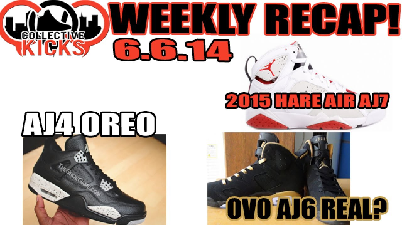 3df387c165e9 Collectivekicks Weekly Recap 6.6.14  Jordan 4 Oreo