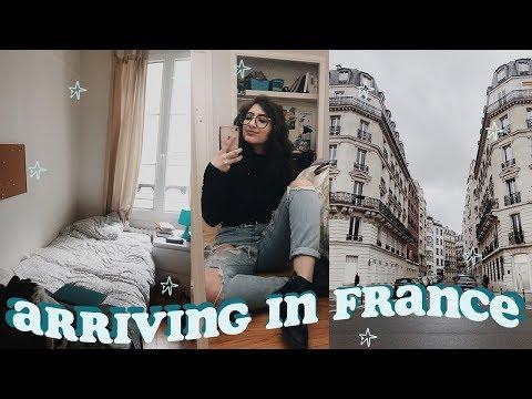 JE SUIS ARRIVÉE EN FRANCE! exploring paris + first impressions | study abroad