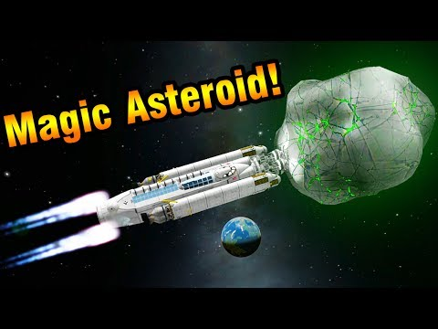 KSP: Capturing a Magic Asteroid!