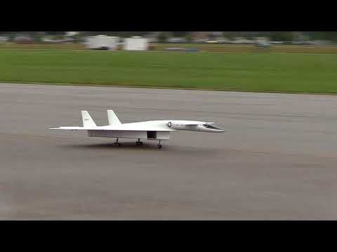 XB-70 RC Model Aircraft