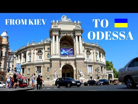 From KIEV To ODESSA By Train - Ukraine