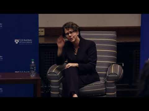 """Public Policy in Practice"" with Cecilia Muñoz - 10/13/17"