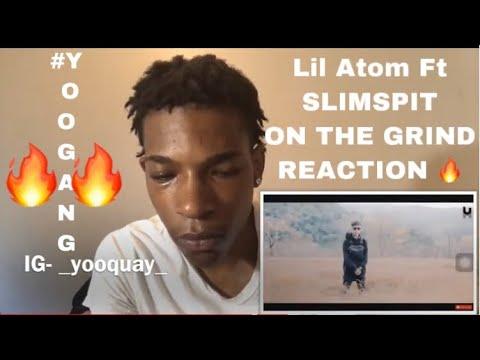LIL ATOM & SLIMSPIT - ONTHEGRIND (Music Video) REACTION 🔥