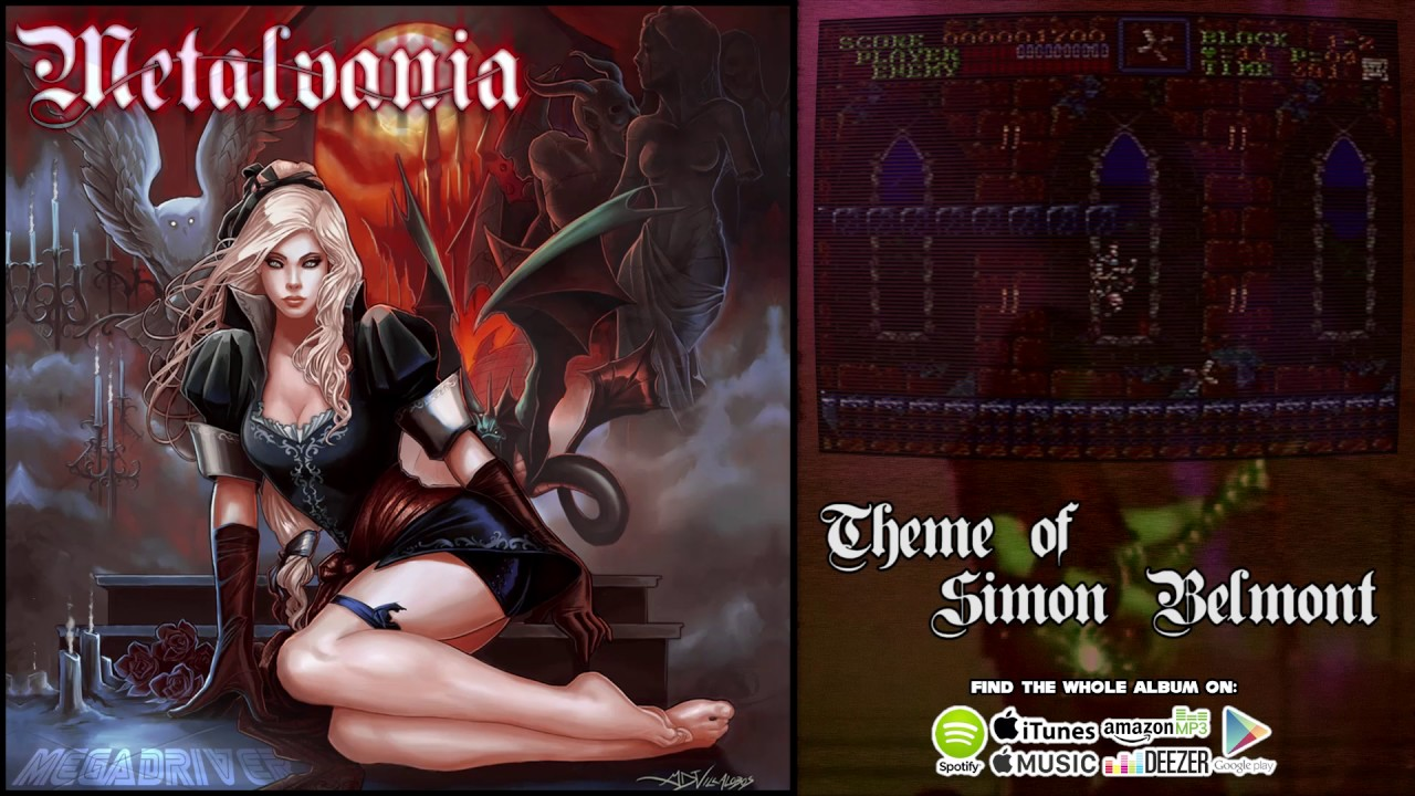 Metalvania Theme Of Simon Belmont Super Castlevania Iv
