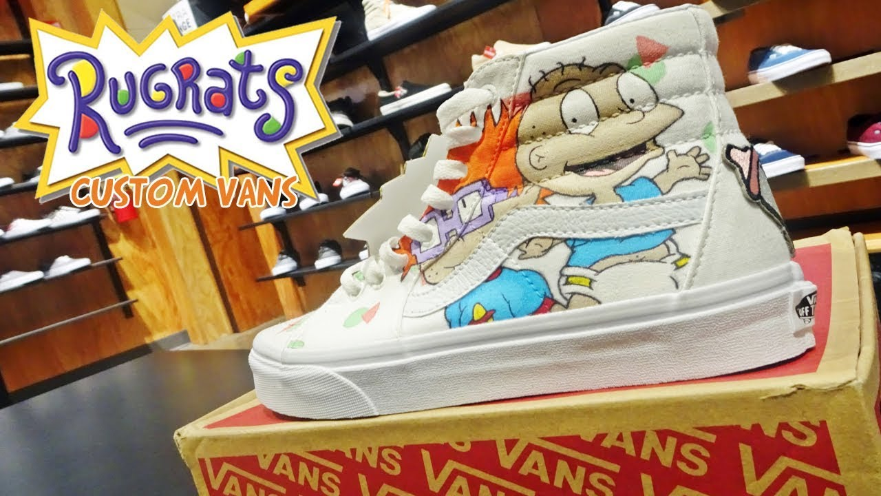 Rugrats Custom Vans - YouTube 324f11a04