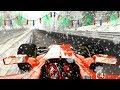 F1 Ferrari Car Driving on Ice/Snow around Nordschleife! (Ferrari SF70H on Snow!) mp3 indir
