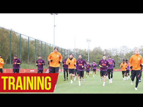 Training   The Reds prepare for Europa League action   Manchester United