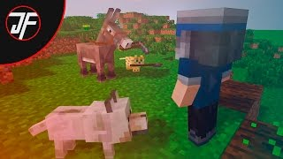 Animal School - Farming (Minecraft Animation) [ parody of monster school ]