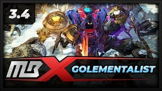 [PATH OF EXILE] – 3.4 – GOLEMENTALIST – ICE GOLEMS – ALL CONTENT – BUILD GUIDE