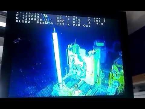 NOV crane 250t subsea operations.