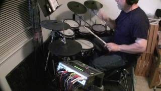 Crosstown Traffic - Jimi Hendrix (Drum & Vocals Cover)