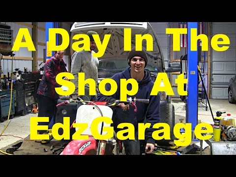 A Day In The Shop At EdzGarage
