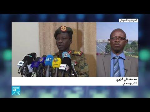 حشود كبيرة من المتظاهرين تتجه نحو مقر القيادة العامة للقوات المسلحة في الخرطوم