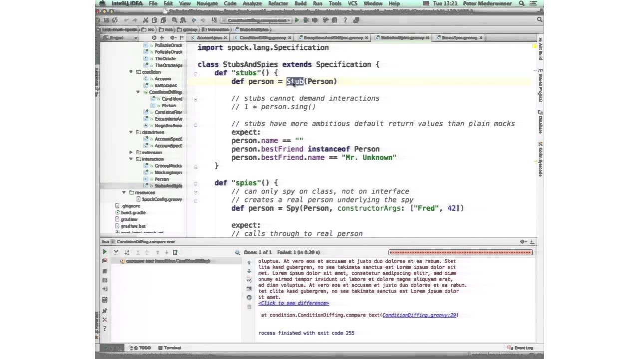 Testing Java, Groovy, Spring and Web Applications with Spock