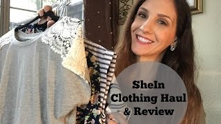 SHE IN Clothing Haul + Review!! Spring 2016