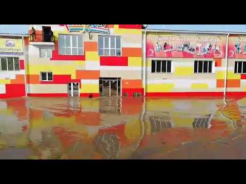 Наводнение Нижнеудинск 28 06 19 район Аэропорт 6