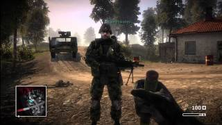 Battlefield Bad Company Gameplay: Part 1 (Xbox 360, PS3)