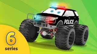 Monster Truck Adventures - Police Car Chase   EPISODE SIX   Police Monster Truck Upgrade Tuning