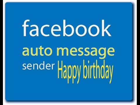 How To Send Birthday Wishes All Together On Facebook
