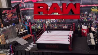WWE Action Figure Raw Arena - UPDATE