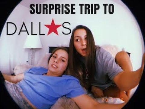 SUPRISE TRIP TO DALLAS
