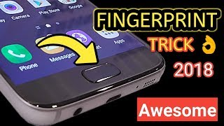 Fingerprint hidden features of any smartphones | Fingerprint New Trick । Its  Awesome