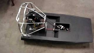 "First Run Rc Airboat ""velocity"""