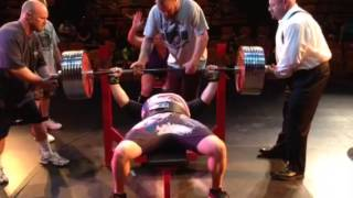 World Record Bench Press Man Over 50 years old