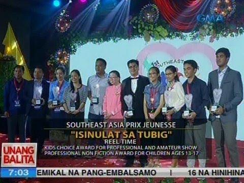 UB: Reel Time, pinarangalan sa Southeast Asia Prix Jeunesse