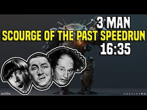 3 Man Scourge of the Past Speedrun in 16:35 | Destiny 2 thumbnail
