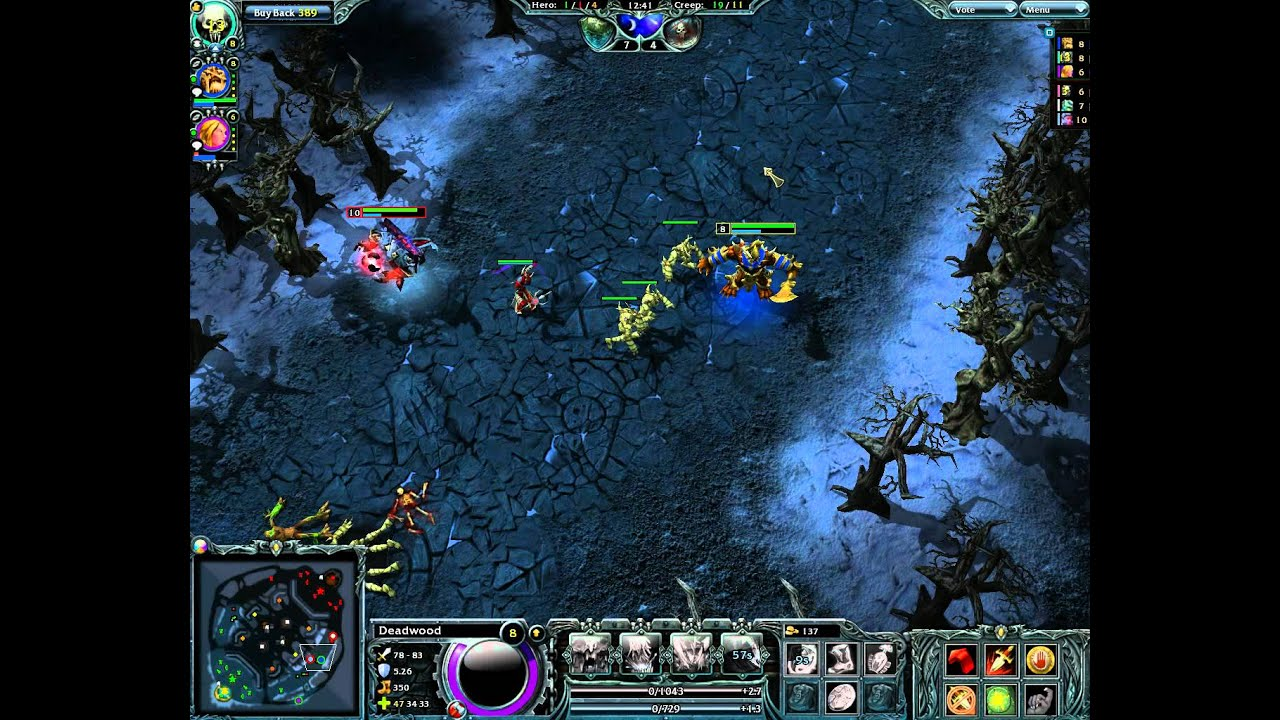 Matchmaking heroes of newerth