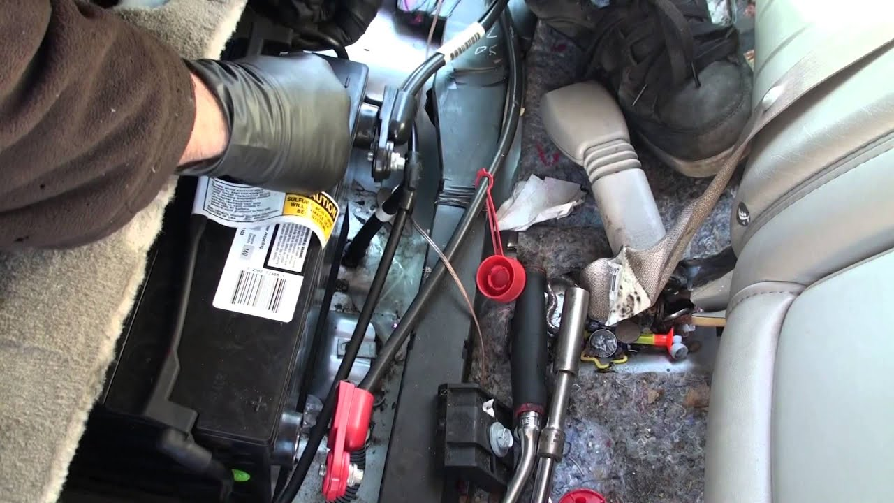 Pcm Wiring Diagram 2003 Cadillac Cts Manual Guide 02 Deville Battery Install Youtube Diagrams Radiator