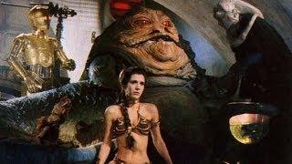 Princess Leia murders Jabba the Hutt ARABIAN style