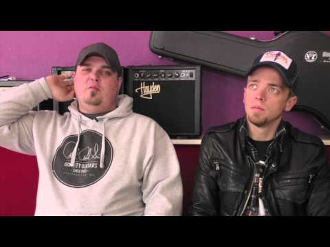 Black Stone Cherry interview - Chris and Ben (part 1)