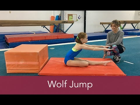 Gymnastics How To: Wolf Jump