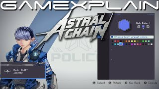 Astral Chain - Character Creator Gameplay!